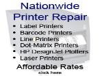 Nationwide printer repair